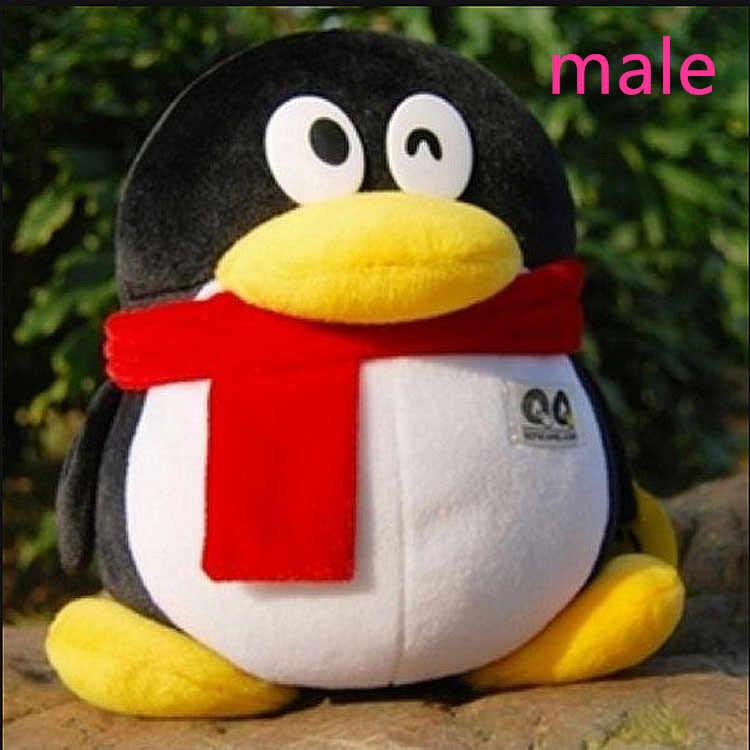 13-50 سنتيمتر 1 قطعة الذكور الإناث عاشق البطريق ألعاب من نسيج مخملي الكرتون الحيوان لطيف هدية عيد ميلاد نوعية جيدة الحاضر Kawaii QQ البطريق دمية