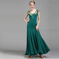 Lady Standard Ballroom Dress Woman Ballroom Dance Competition Suit Standard Waltz Foxtrot Modern Dance Dress Tango Dress B 6222