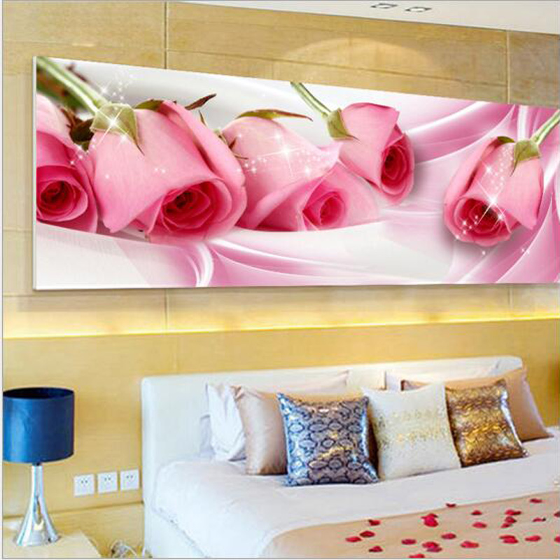D SH New Style 5D Diamond Painting Pink Rose Flowers Full Needlework Cross Stitch Kit Diamond Embroidery DIY Moasic Home DecorD SH New Style 5D Diamond Painting Pink Rose Flowers Full Needlework Cross Stitch Kit Diamond Embroidery DIY Moasic Home Decor