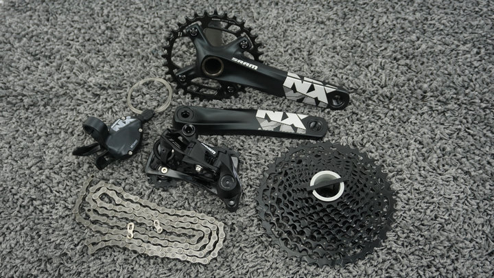 <font><b>SRAM</b></font> NX <font><b>11Speed</b></font> GXP 32T 170mm Group set image