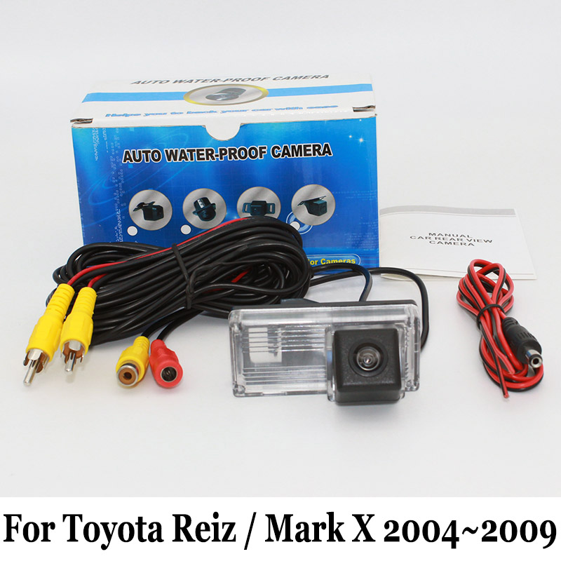 a86314cb6 لتويوتا reiz/مارك x markx 2004 ~ 2009/السلكية أو اللاسلكية/ccd للرؤية  الليلية/كاميرا الرؤية الخلفية/hd عدسة زاوية واسعة كاميرا