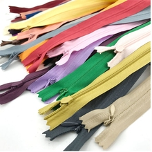 Long-Invisible-Zippers Sewing-Clothes Orange Nylon Black Green 50cm DIY for Purple