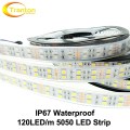 LED Strip 5050 120 LEDs/m Silicone Tube IP67 Waterproof DC12V Flexible LED Light  5m/lot