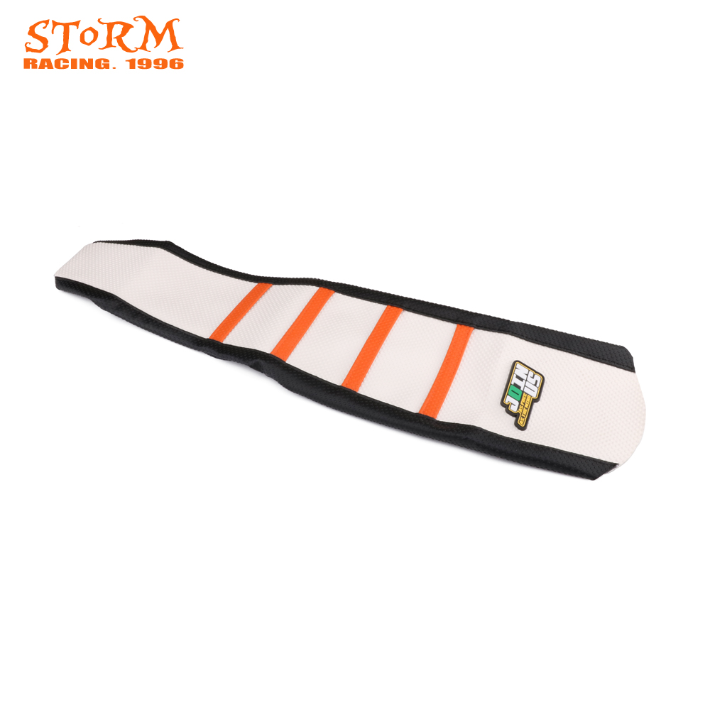 Ribbed Rubber Gripper Soft Seat Cover For KTM SX85 SX 85 2006 2007 2008 2009 2010 2011 2012 06-12 Motorcycle Dirt Bike