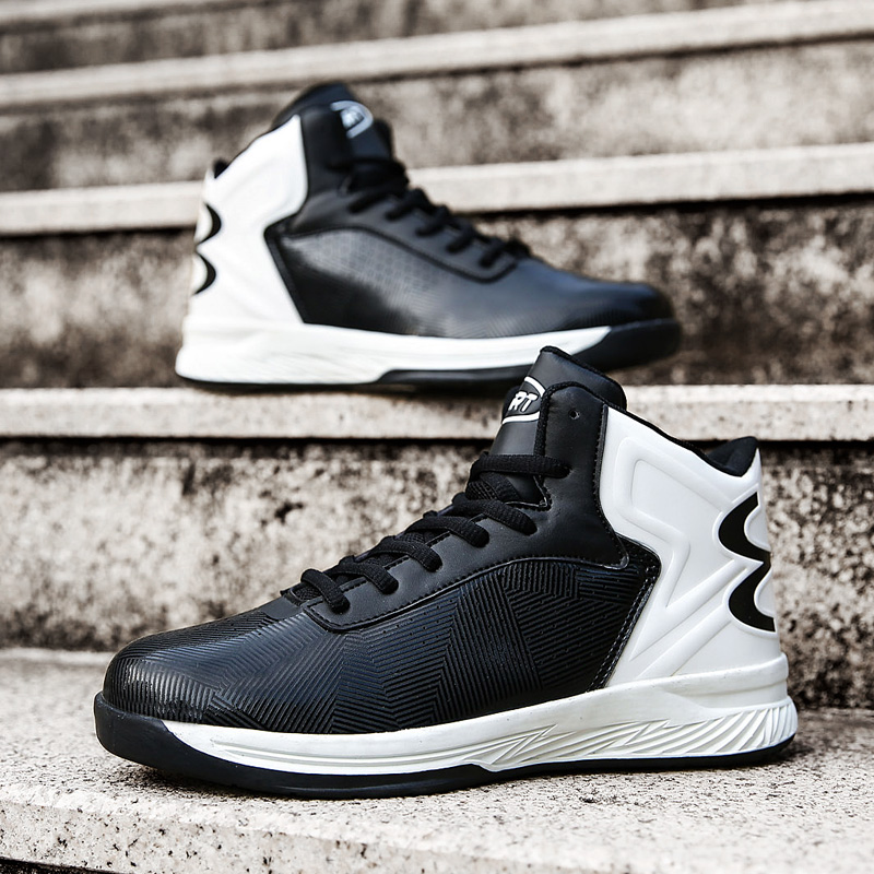 Fast Ship Men Basketball Shoes High-Tech Anti-Skid Athletic Basketball Boots Breathable Outdoor Basketball Sneaker Traning Shoes peak sport men outdoor bas basketball shoes medium cut breathable comfortable revolve tech sneakers athletic training boots