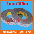 2 3 5 6 mm*55m 3M Double Side Tape Sticky Adhesive For iPhone Samsung Cellphone LCD Touch Screen iPad Elctric Repair Tool