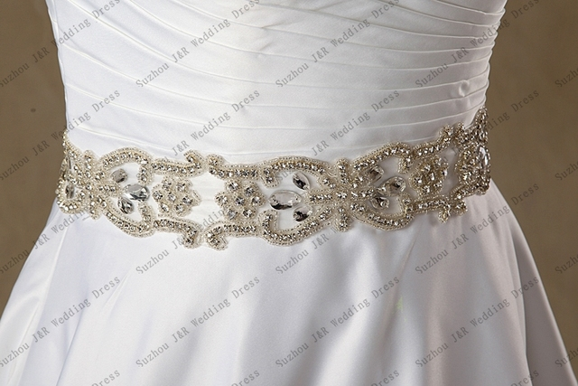 Luxury Shinning Crystal Belt For Wedding Dress High Quality Crystal Wedding Sash