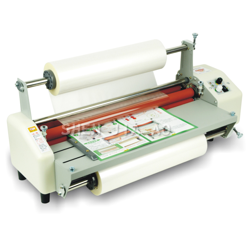 12th 8460T A2+ Multi-function roll laminator Hot Rolling Mill Roller, cold laminator Rolling Machine film laminator  220V 1pc 1pc 12th 8460t a2 multi function laminator hot roll laminating machine high end speed regulation laminating machine