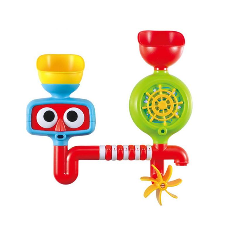 Baby Bath Toy Bathroom Pool Toys for Children Bathing Play Water Swimming Toys Waterwheel Kits Kids Bath Educational Toy Gift