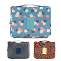 New waterproof Travel Organizer Hanging Bag Toiletry Cosmetics Makeup Bag Oxford cloth Practical jewelry bag