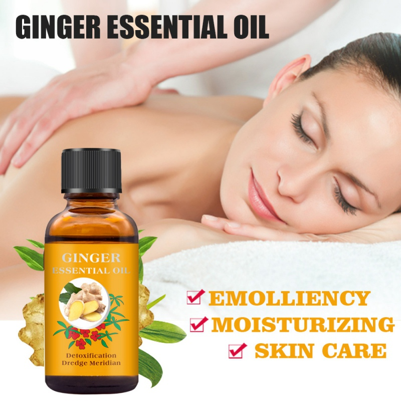 Essential Oils Body Massage Relax Fragrance Oil Skin Health Care  Aromatherapy Diffusers Pure Ginger Oleo Esencial