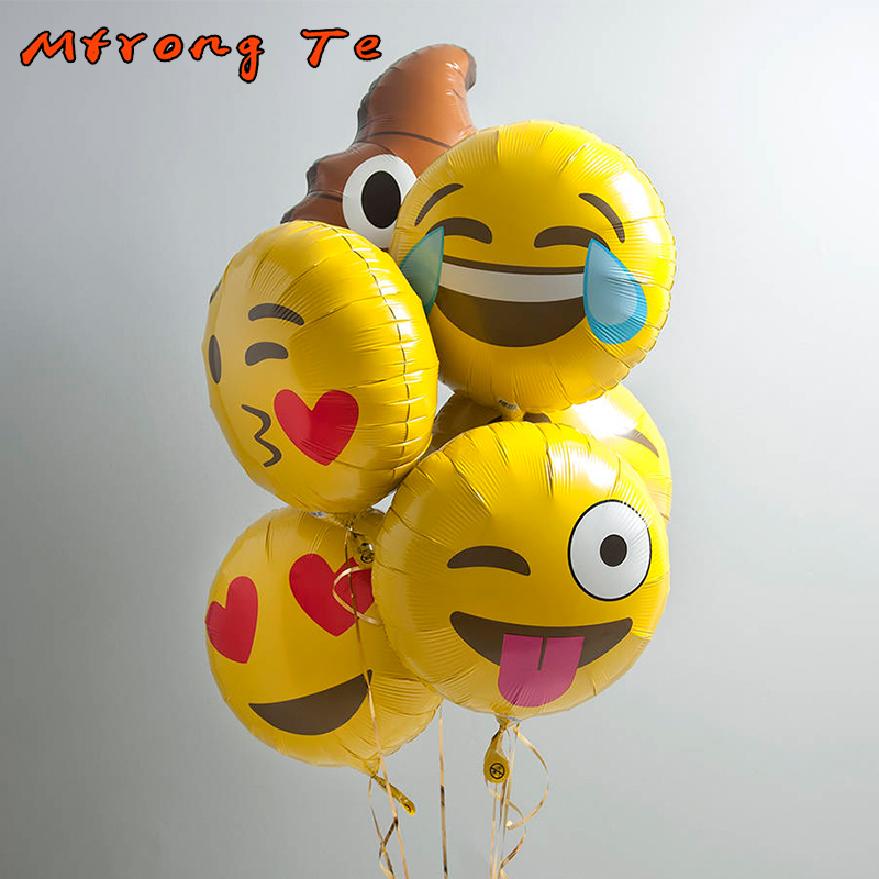 Accessories & Parts Drone Bags Lovely Expression Smiling Face Foil Emoji Balloons Birthday Party Wedding Decoration Supplies Emoticons Inflatable Children Toys Buy Now