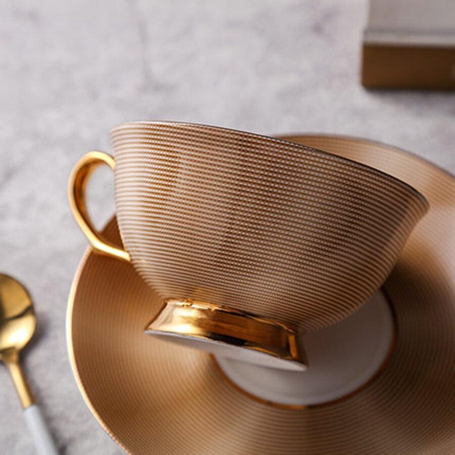 Simple Europe céramique après-midi créatif tasse à café ensemble thé Vintage sûr tasse à thé Tekopp meilleures tasses boissons produits 50N5068