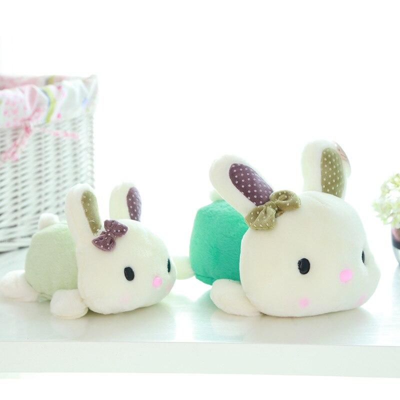 Preciosa mentira muñeca de conejo propensa Mimi juguete de peluche regalo de San Valentín