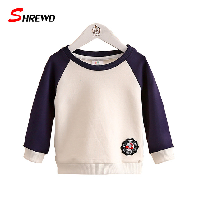 Girls Sweatshirt 2016 New Autumn Casual Solid Hoodies For Girls Long Sleeve Simple Kids Clothes Girls 4123Z