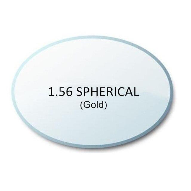 Высокое Качество Rx Lenses1.56 Супер-тонкий ХК золото УФ AR CR-39 смолы очки линзами за близорукости/дальнозоркости/пресбиопии