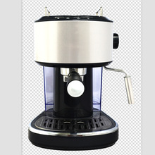 15BAR home full automatic espresso coffee machine grinding beans steam hit the milk bubble