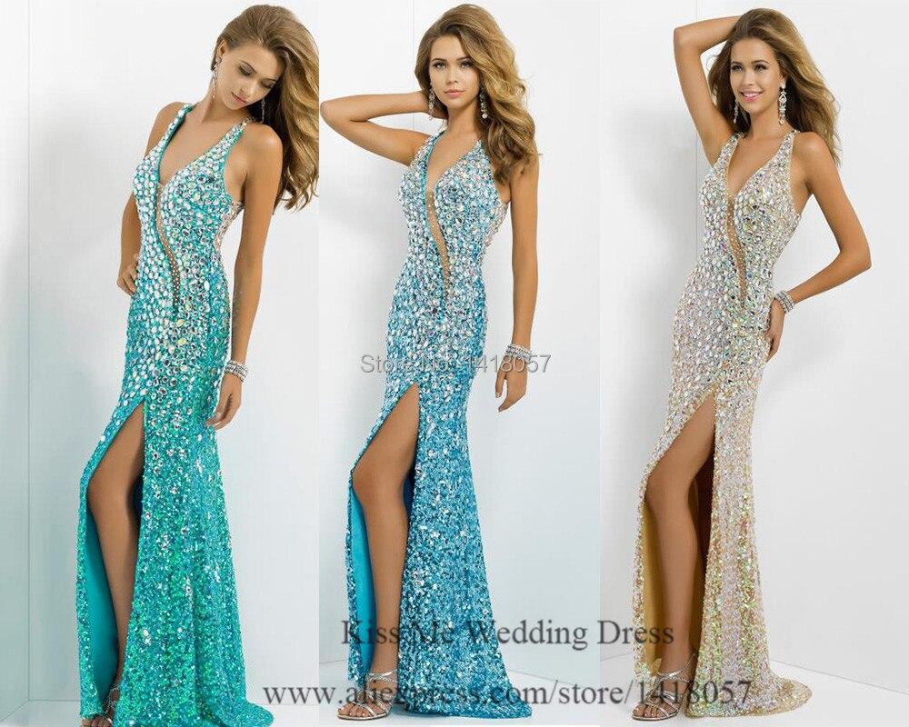 Blue Gold Prom Dresses 2015_Prom Dresses_dressesss