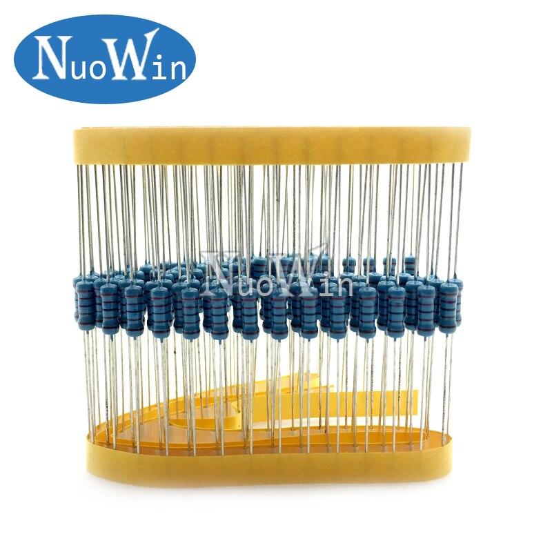 Details about  /60pcs 2W 2 Watt Metal Oxide Film Resistor Axial Lead 4.7K Ohm ±5/% Tolerance