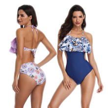 2019 Summer Sexy One Piece Swimsuit Women Plus Size Swimwear Bathing Suit Body Suit Monokini Swimsuit Beachwear Bikini Swim Wear