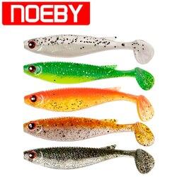 4 pcs NOEBY S5485 Leurres De Pêche Doux 100mm 8g Isca Pesca Leurre De Peche Dure Souples Carpe appâts mous Wobler Na Ryby Wlure