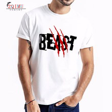 2QIMU Cotton Mens Letter Print T-Shirts 2019 Summer Short Sleeve T-Shirt Brand Sports Style Casual O-Neck Fitness Top Tees