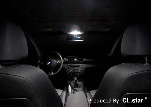 13 adet Hata ücretsiz LED ampul İç Işık Kiti için bmw 1 serisi E87 E81 116i 118d 118i 120d 120i 123d 130i 135i M 135i (03-11)