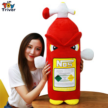 Creative Plush Fire Extinguisher Toy NOS Nitrous Oxide Bottle Funny Stuffed Cushion Pillow Kids Children Gift Home Decor