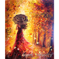 40 50cm Diy Digital Oil Painting By Numbers Paint Drawing Coloring By Number Canvas Hand Painted