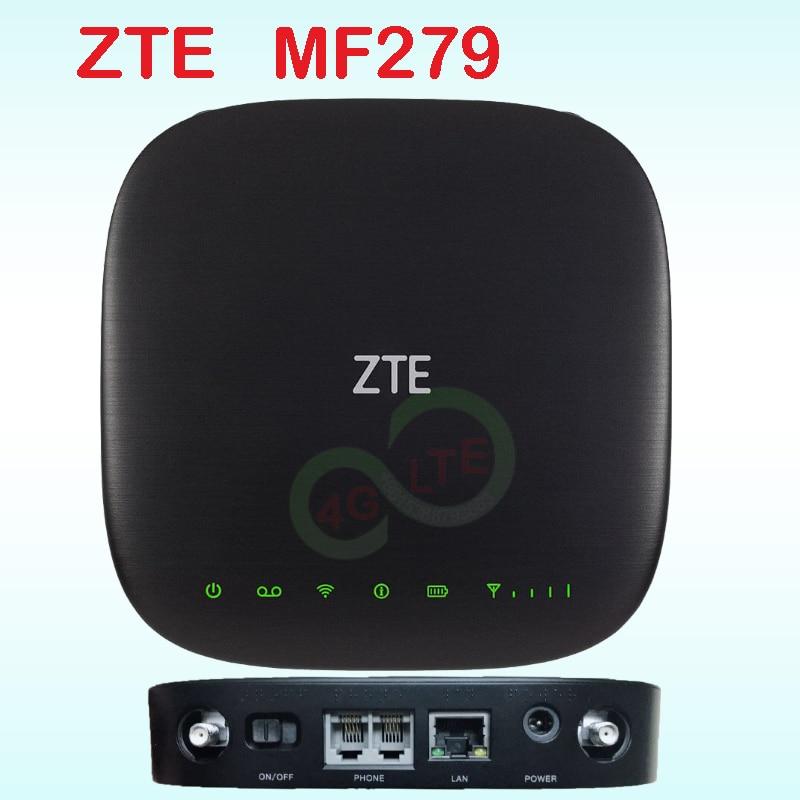 Zte mf279 lte wifi routeur voiture hotspot wi-fi 3g 4g wifi routeur avec fente pour carte sim wifi répéteur extérieur sans fil industriel