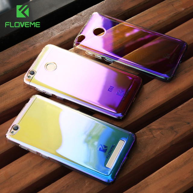 newest 822fc 305f9 US $2.99 20% OFF|FLOVEME Blue Ray Case For Xiaomi Redmi 4X 4A Xiaomi 5 6  Hard Mobile Phone Cover For Redmi 4 Pro For MEIZU M5 For HUAWEI P10 Case-in  ...