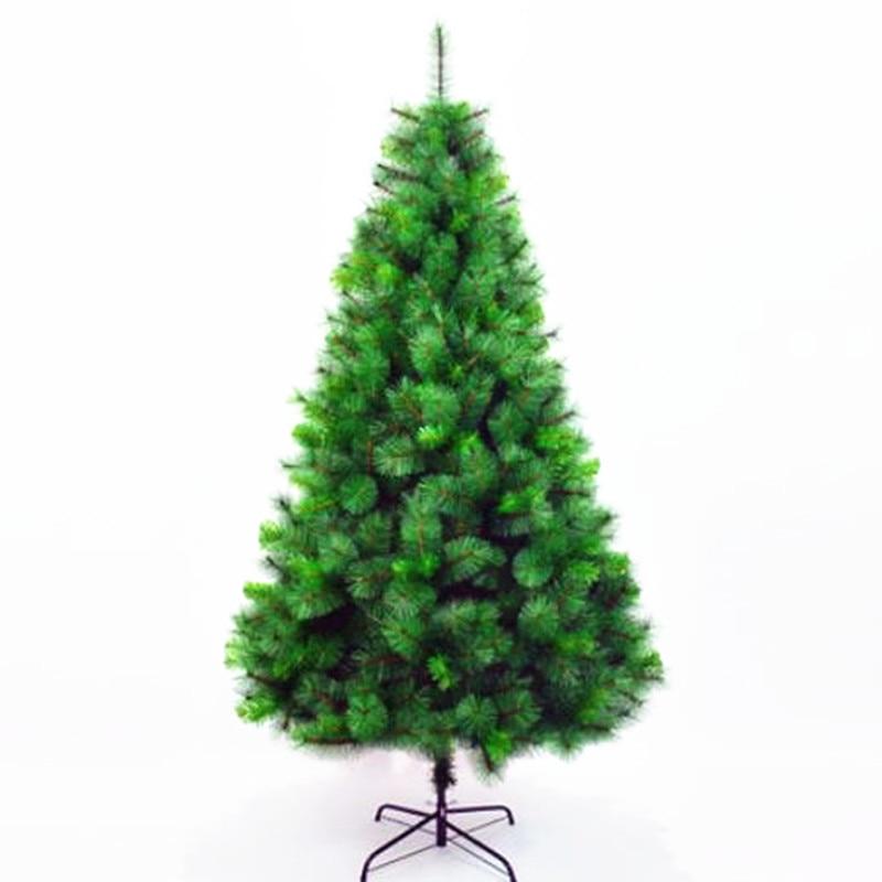 Christmas Tree Needles: Encrypted Pine Needle PVC Mixed Christmas Tree Christmas