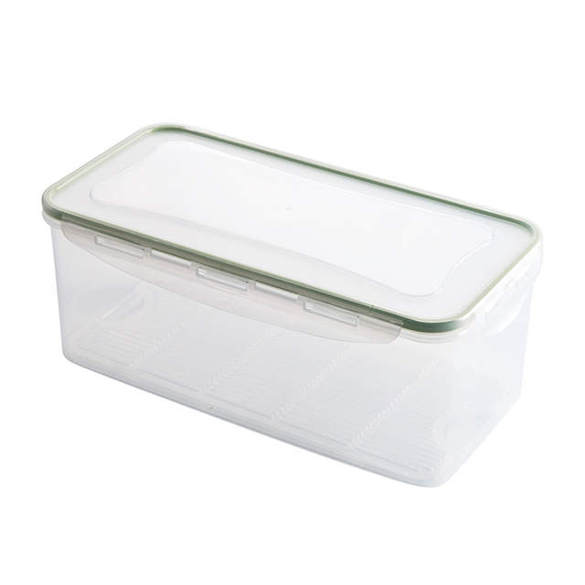c391d518d2ed Plastic food storage box refrigerator food frozen storage box kitchen  vegetables and fruit drain storage box
