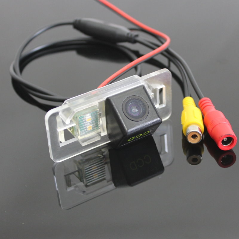 For Audi <font><b>A3</b></font> 2014~2015 / Car Rear View Camera / Reversing Back up Camera / HD CCD Night Vision + Water-proof + Wide Angle