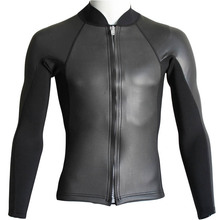 Realon Wetsuit Jacket 2mm CR Neoprene for Men and Women High Elastic Scuba Diving Top Suits Snorkeling Swimming Kitesurf Surfing