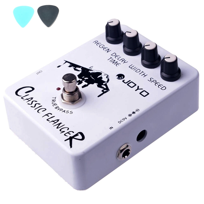 JF-07 Classic Flanger Effects Guitar Pedal JF07 Effect Pedal JOYO Classic Flanger Pedals JOYO guitar accessories