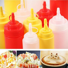 1PC Sauce Squeeze Bottle Honey Cream Oi Storage Bottle Cake Sushi Decoration Tools Jam Spices Tomato Sauce Dispenser Holder Jar