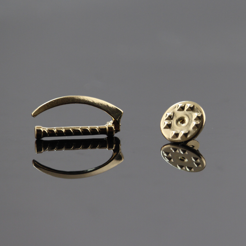 Gold/Silver Colors Laryngoscope Pin Medical Department Jewelry for Doctor/Nurse/Therapist Pin Daily Finds Science Jewelry