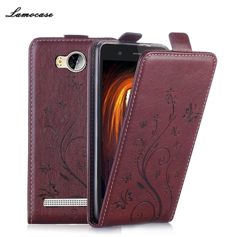 autentica di fabbrica f7735 06f2f Filp Leather Case For Huawei Y3 II Vertical Magnetic Case For Huawei Ascend  Y3 II LUA-U22 Y3 2 Y3II Lua-L21 Cover Lamocase