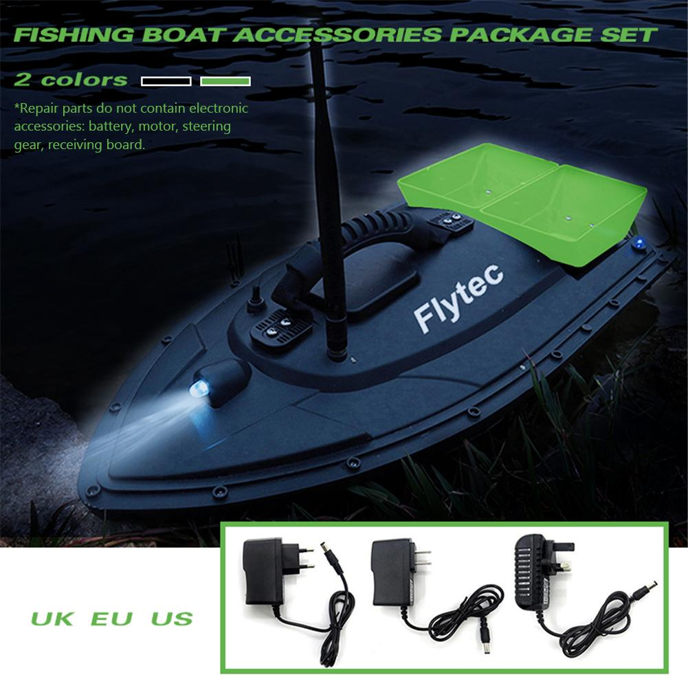 Fishing Tool Intelligent Smart 500 metre RC Bait Boat Toy Double Warehouse Bait Fishing Package Repair Upgrade Kits