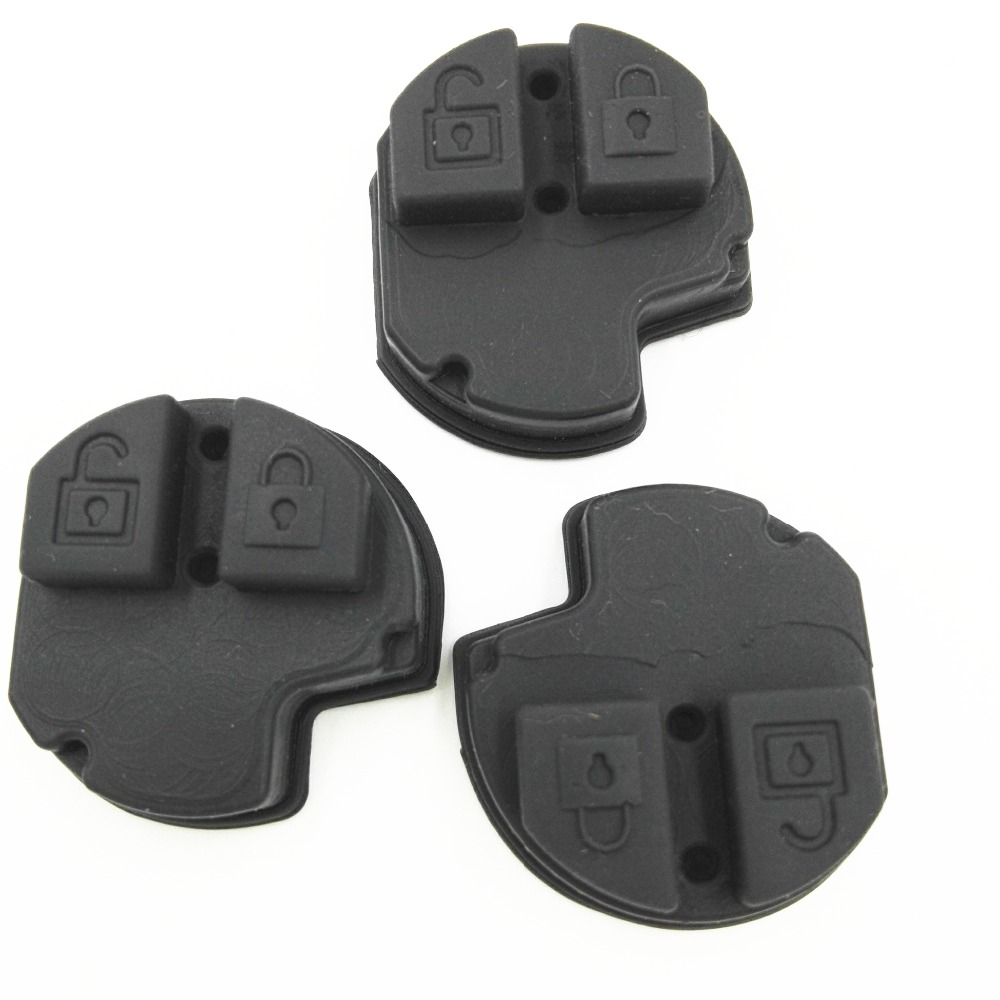 2 Buttons Remote Key Rubber Pad For Suzuki GRAND VITARA SWIFT IGNIS ALTO SX4 Hot
