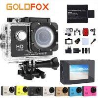 GOLDFOX Wifi 1080P HD Sport Action Camera 2 0 Inch Screen 30M Go Waterproof Outdoor Video