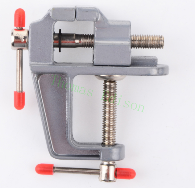 30MM Maximum opening of the clamp Aluminum Alloy vise Mini DIY household flat table vise pliers hardware tools