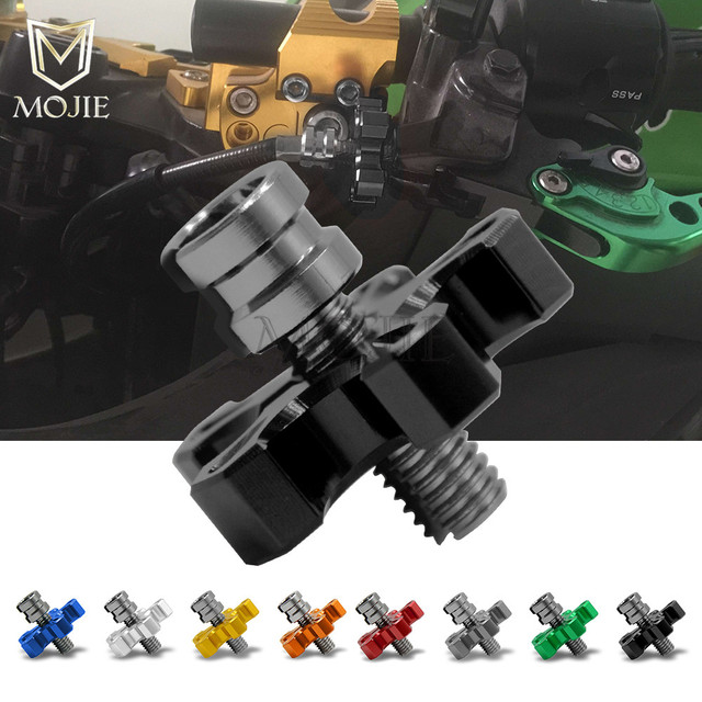 universal motorcycle cnc aluminum clutch cable wire adjuster for ducati 848  superbike 848 1098 1098r 1098s evo corse se 1198sp