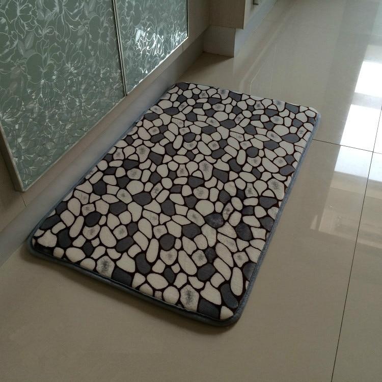 1PC Chocolate Stone Slow Rebound Memory Foam Absorbent Non slip ...