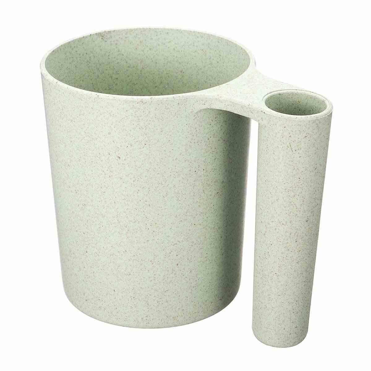 Чашка для полоскания рта с держателем 250 мл 2 в 1 здоровье и пшеница соломенная щетка для мытья зубы чашки 4 цвета Портативный путешествия пить воду кружка чашка для воды