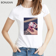 Hot sale 2019 summer aesthetic clothes women korean tshirt femme vintage sexy shirt 90s streetwear top female t-shirt
