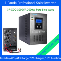 3000VA 2000w Solar Inverter With Solar Energy Utility Power Complementary Power Generation System 3000VA DC24V Solar