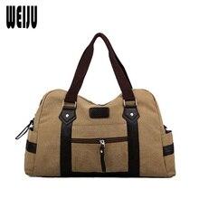 WEIJU Große Kapazität Männer Reisetaschen Neuen Frauen Handtasche Herren Umhängetasche Duffle Bag Casual Gepäck Taschen