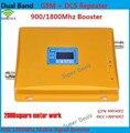 900/1800 мГц dual band мобильный усилитель сигнала + ЖК-дисплей! сотовый телефон GSM И DCS dual band сигнал повторителя, усилитель сигнала GSM